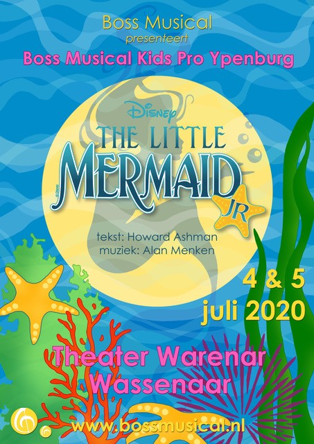 The Little Mermaid JR. - 4 & 5 juli 2020 (Ypenburg)