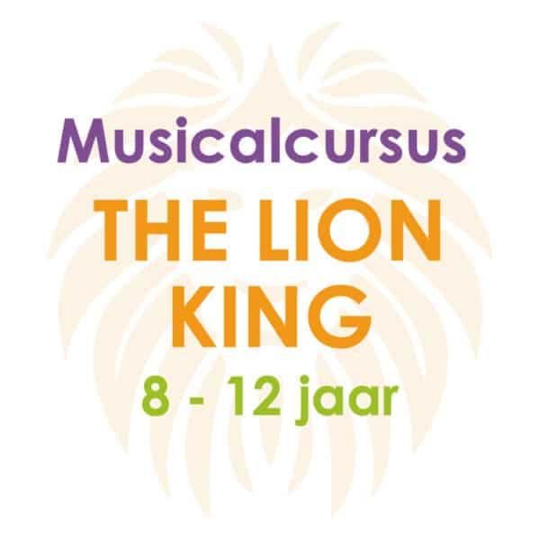 Musicalcursus The Lion King – 8 tot 12 jaar