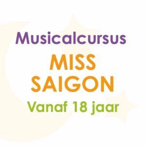 Musicalcursus Miss Saigon – volwassenen
